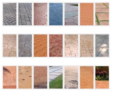 Configurador de hormig n impreso durasil - Tipos de pavimentos ...