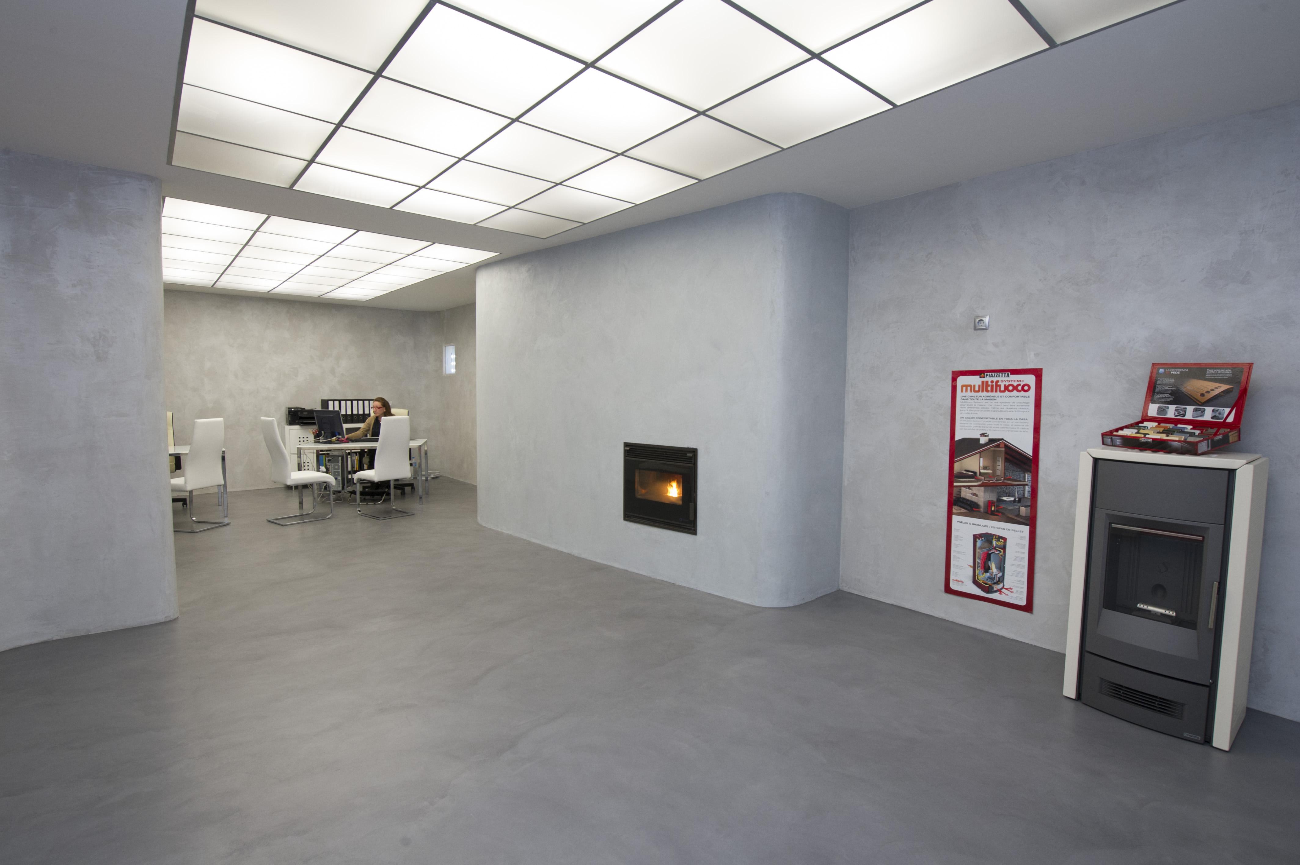 Dorable suelo de cemento pulido elaboraci n ideas de for Suelos de cemento para interiores
