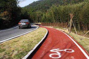 Slurry: El pavimento definitivo para el carril bici. 1