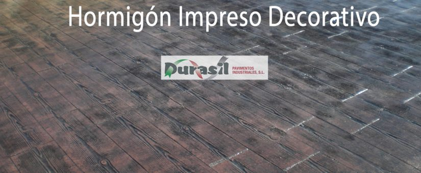 Hormigon Impreso Decorativo Durasil - Hormigon-decorativo